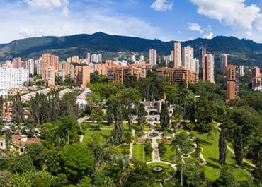 Medellín ciudad de árboles, ciudad verde