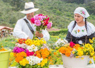 La Feria florece con tu ayuda a los Silleteros de Santa Elena